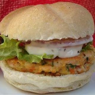 Simple Salmon Burgers.
