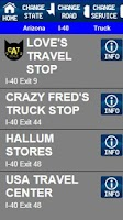 Screenshot of RV & Travelers App