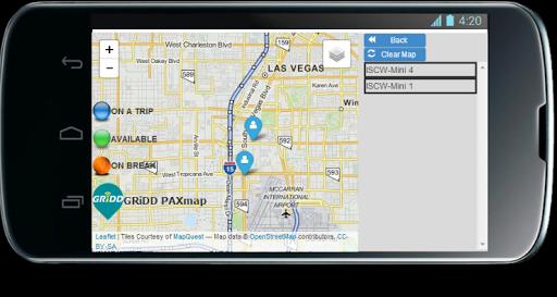 PAXmap Client App