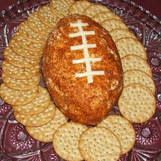 Football Cheese Ball.