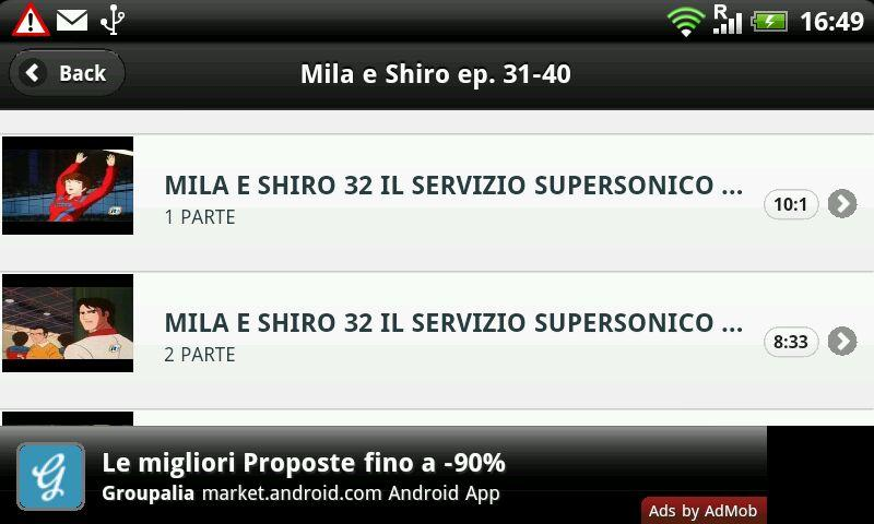 Mila e Shiro - screenshot