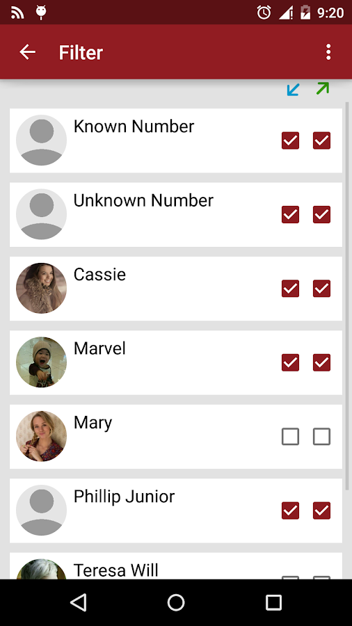 RMC: Android Call Recorder - screenshot