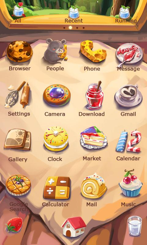 Cats and Mice Dynamic Theme- screenshot