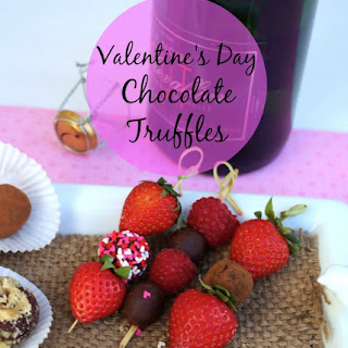 Chocolate Truffles for Valentine's Day