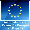 Comisión Europea en España logo
