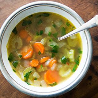 Mom's Cold-Season Chicken Soup
