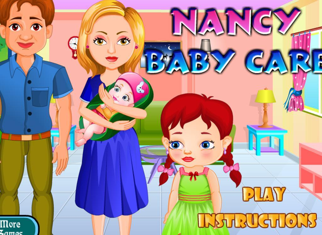 Nancy newborn baby care - screenshot