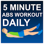 5 Minute Abs Workout Daily