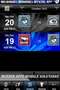 Milwaukee Admirals - screenshot thumbnail