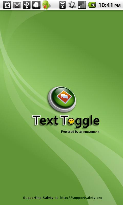 TextToggle - screenshot
