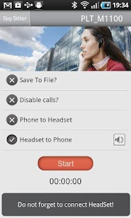 SpySitterPro-Bluetooth audio