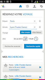 Voyages-SNCF - screenshot thumbnail
