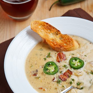 Ale and Cheddar Soup.