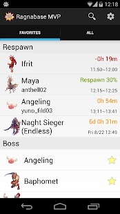 Ragnabase MVP -Ragnarok Online- screenshot thumbnail
