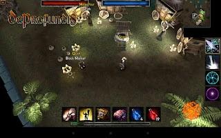 Screenshot of DeProfundis