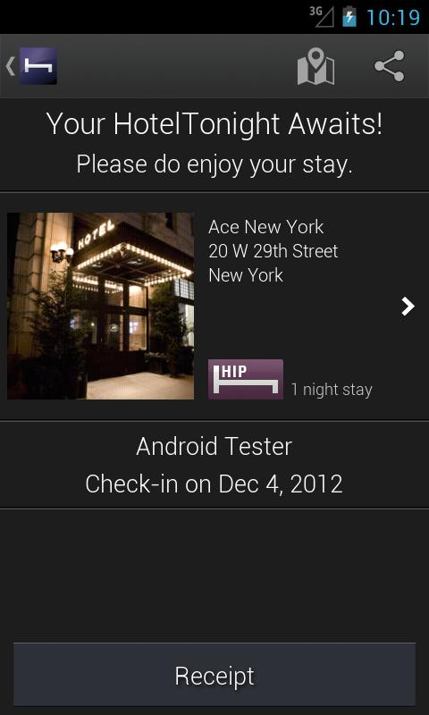 Hotel Tonight - screenshot