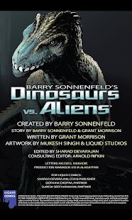 Dinosaurs vs Aliens FCBD- screenshot thumbnail