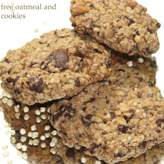 Gluten Free Oatmeal And Quinoa Cookies.