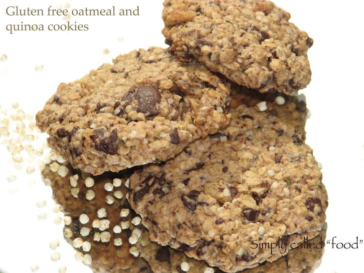 Gluten Free Oatmeal and Quinoa Cookies Recipe