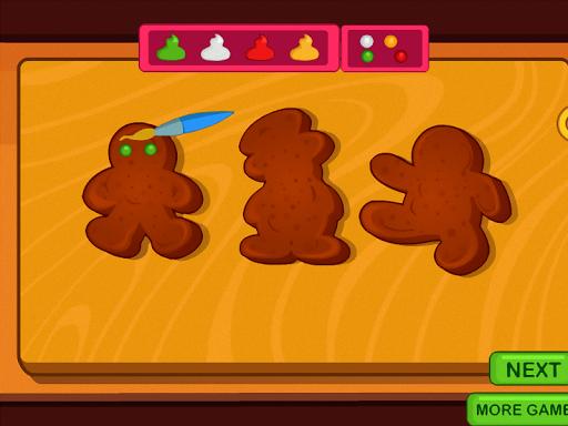 無料休闲Appのクッキーを調理:ジンジャーブレッド|記事Game