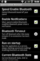 Screenshot of Speed Enabled Bluetooth Trial