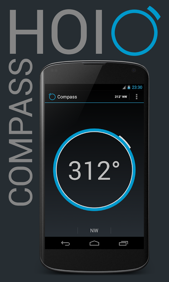Holo Compass - screenshot