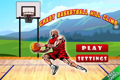 Crazy BasketBall Hill Climb
