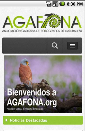 Agafona- screenshot