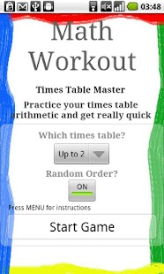 Math Workout- screenshot thumbnail