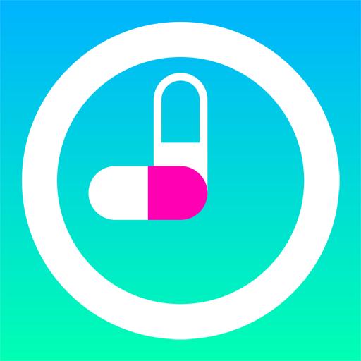 薬いつ飲む?ー服用スケジュールの管理ができるお薬手帳アプリー LOGO-APP點子