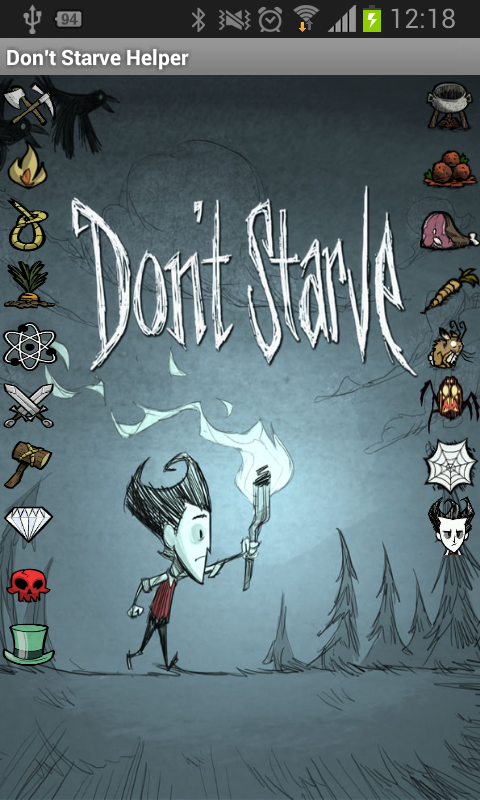 Helper for Don't Starve Game- screenshot