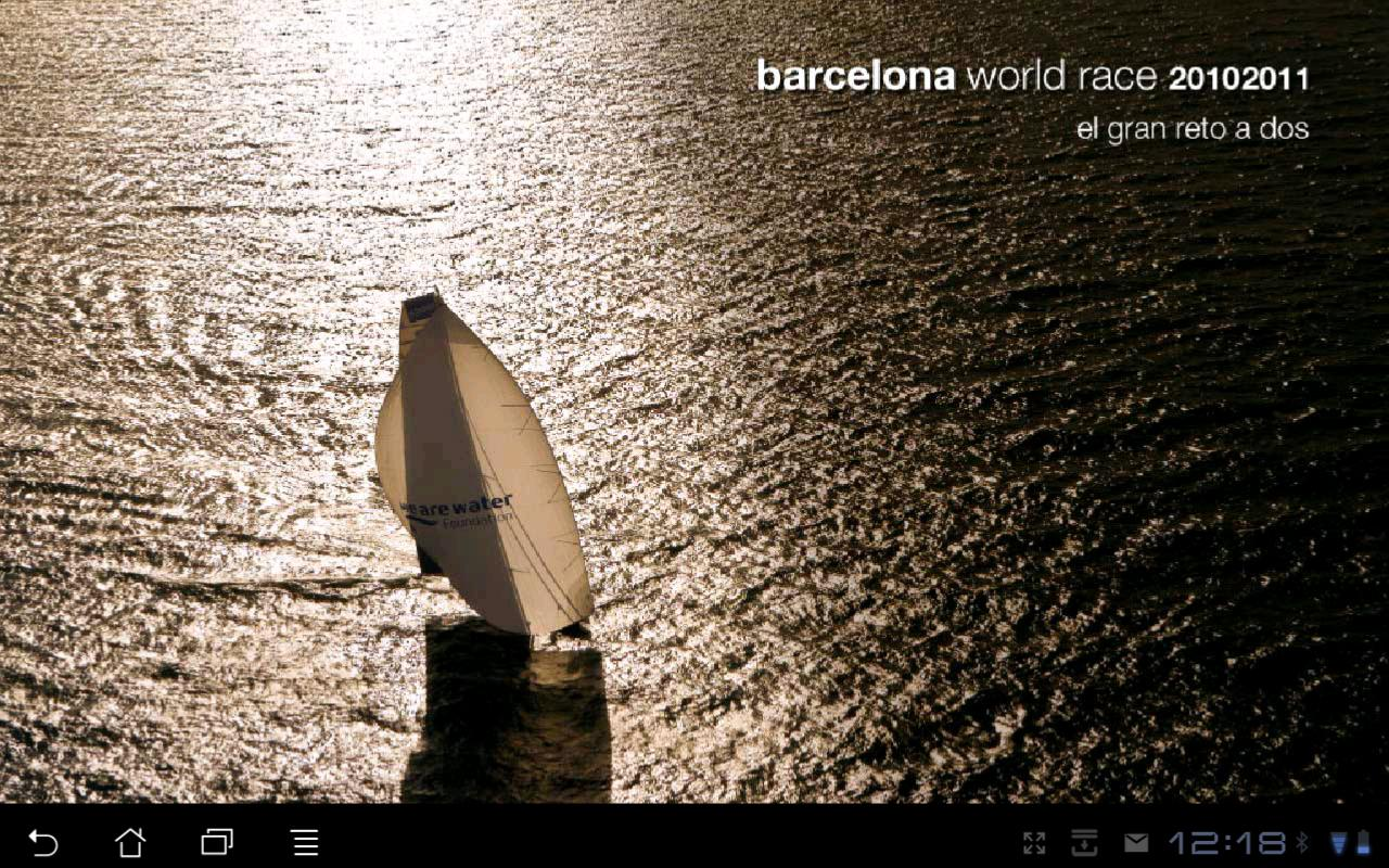Barcelona World Race 2010 2011- screenshot