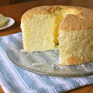 Gluten-Free Chiffon Cake.