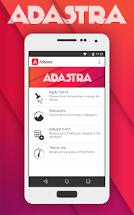 Adastra - Icon Pack Capture d'écran