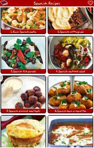 西班牙食譜免費 !