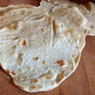 Easy Homemade Flour Tortillas - White or Wheat
