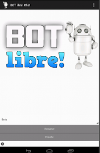 Bot Libre! screenshot