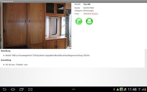 Wohnwagen Ullrich App