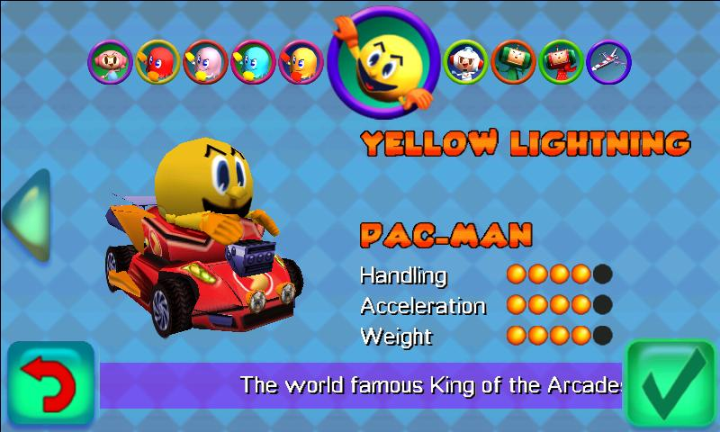 PAC-MAN Kart Rally by Namco- screenshot