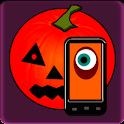 Halloween makeup logo