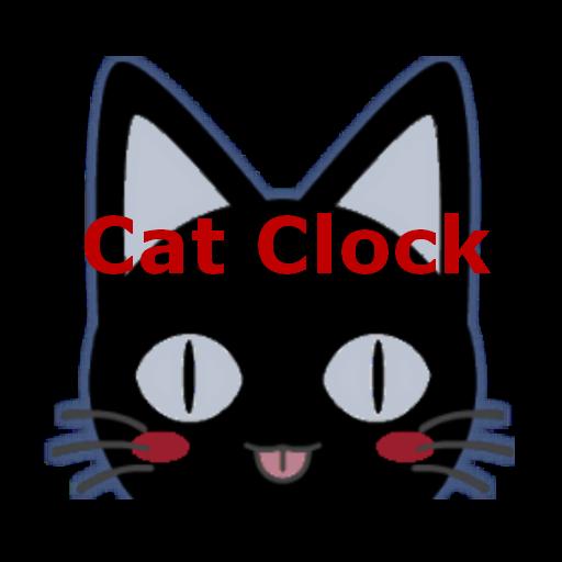 Cat Clock & Weather Forecast