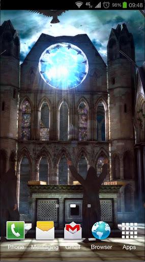Gothic 3D Live Wallpaper
