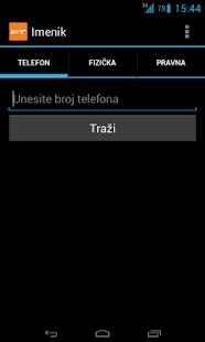 BH Telecom Imenik - screenshot thumbnail