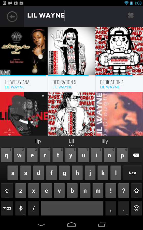 DatPiff - Free Mixtapes - screenshot