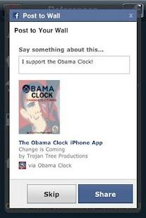 Obama Clock - screenshot thumbnail