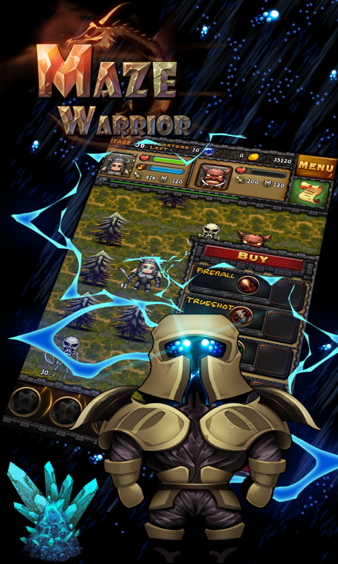 Maze Warrior - screenshot
