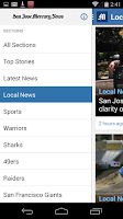 Screenshot of San Jose Mercury News