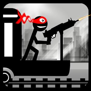 Stickman Train Shooting