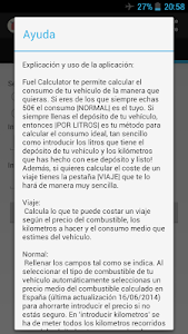 Fuel Calculator screenshot 3