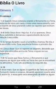 Bíblia O Livro - screenshot thumbnail